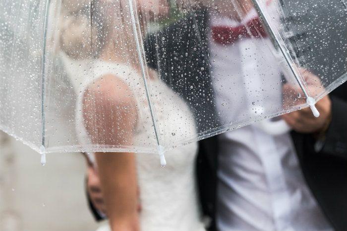Cosa fare se il giorno del matrimonio piove