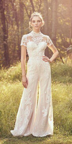 abiti da sposa tendenze jumpsuit