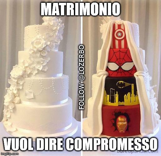 meme matrimonio torta