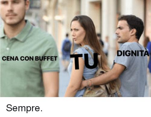 meme matrimonio buffet