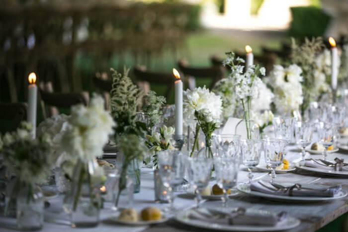 Centrotavola matrimonio: idee per le tue nozze